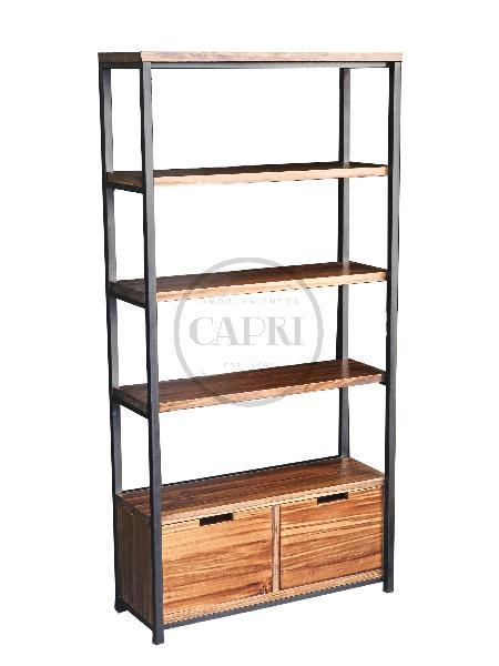 Estanteria industrial con cajonera muebles estilo industrial amoblamientos capri - Cajonera estilo industrial ...
