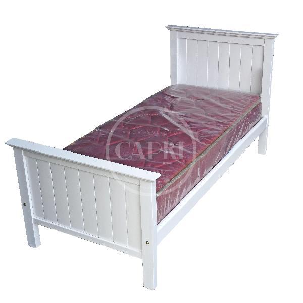 Cama funcional tranquera laqueado blanco muebles for Cama funcional