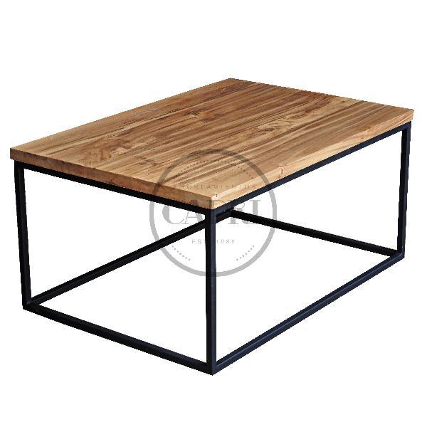 Mesa ratona estilo industrial 100x60 muebles estilo for Mesa estilo industrial